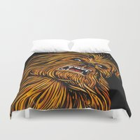 chewbacca Duvet Covers featuring Chewbacca by Laura-A