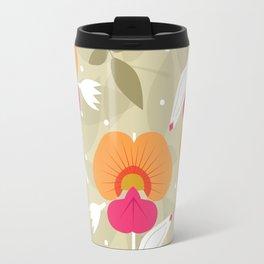 Coral Vine Travel Mug