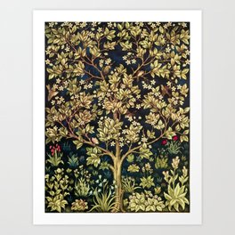 William Morris Tree Of Life Art Print