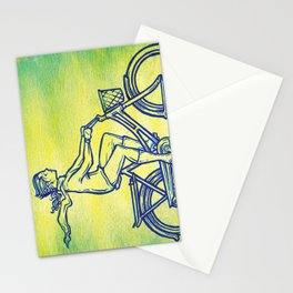Bicycle 3 Stationery Cards