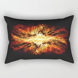 Hell Fire Rectangular Pillow