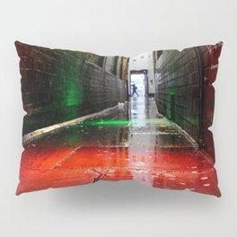 London street red green Pillow Sham