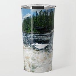 Swim Upstream Travel Mug