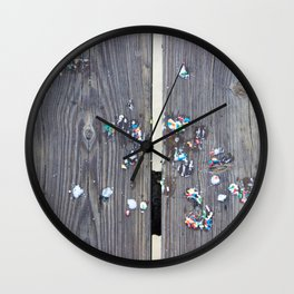 Kohr Bros Sprinkles Wall Clock