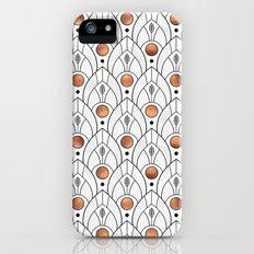 Art Deco Leaves / Version 2 iPhone SE Slim Case