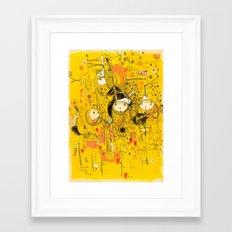 Central 26th Framed Art Print