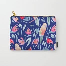 Watercolour Tropical Birds Carry-All Pouch