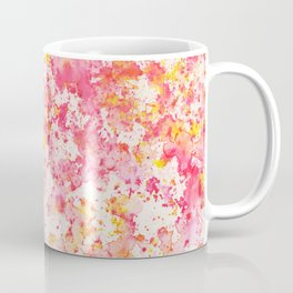 Pink Watercolour Rain Coffee Mug