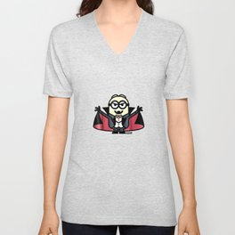 Halloween Monster Graphic T Shirt Unisex V-Neck