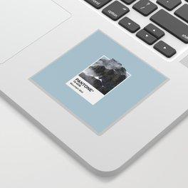 Pantone Series – Mountain Mist Sticker