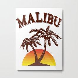 Malibu rum Metal Print