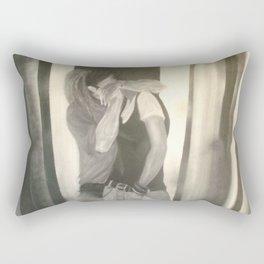 the weird kiss Rectangular Pillow