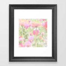 Prettiest Pink  Framed Art Print