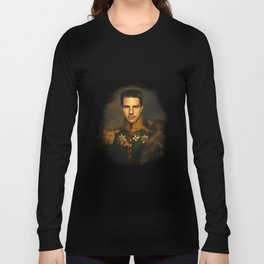 Tom Cruise - replaceface Long Sleeve T-shirt