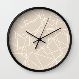Pentagon Wall Clock