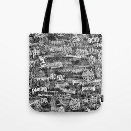 Heavy metal bands Tote Bag