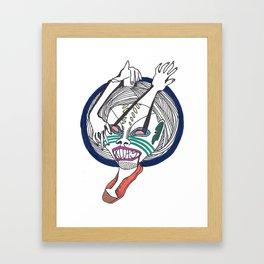 Prismatic Perspectives: Klutz Framed Art Print