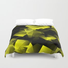 Black clouds in front of sun ... Duvet Cover