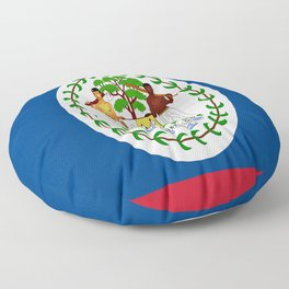 flag of belize-Belice, Belizean,Belize City,beliceno,Belmopan Floor Pillow