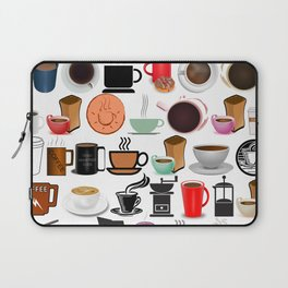Coffee Mugs, Cups and Makers Laptop Sleeve