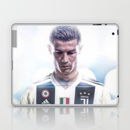 Cristiano Ronaldo To Juventus Laptop & iPad Skin