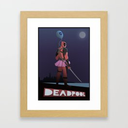 Merc With a Mouth  Framed Art Print
