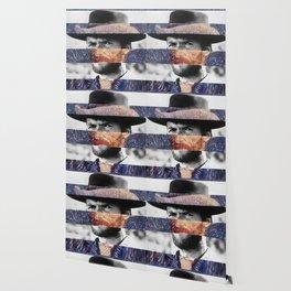Van Gogh's Self Portrait & Clint Eastwood Wallpaper