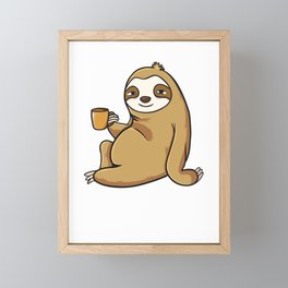 Sorry I Can't I'm Very Busy Framed Mini Art Print
