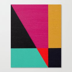 Red Triangle Canvas Print