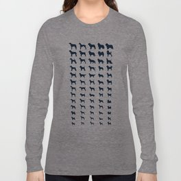 All Dogs (Navy) Long Sleeve T-shirt