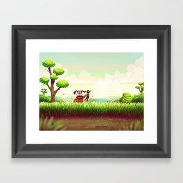 Duck Hunt Framed Art Print