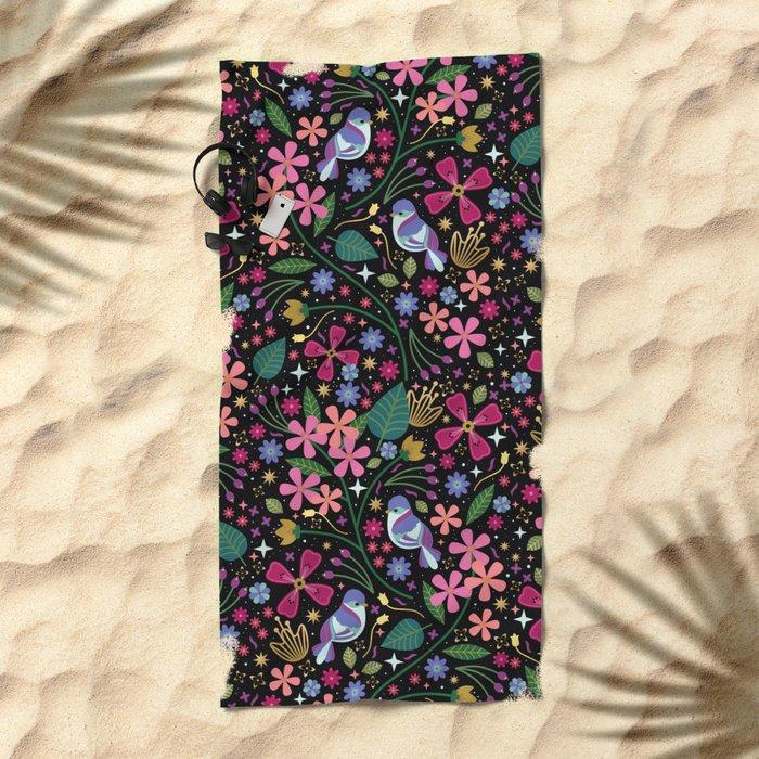 Oleander Beach Towel