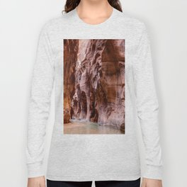 The Narrows Zion National Park Utah Long Sleeve T-shirt