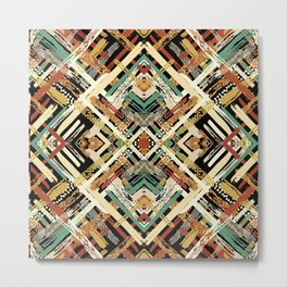 Tribal Abstracts 3 Metal Print