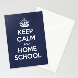 Keep Calm and Home School Stationery Cards