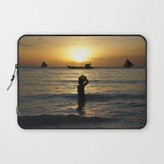 a drop in the ocean Laptop Sleeve