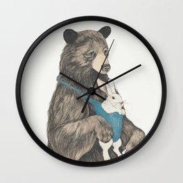 the bear au pair Wall Clock