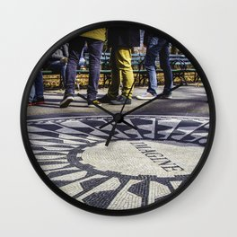 Imagine All the People... Wall Clock