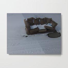 Cold Comfort Metal Print