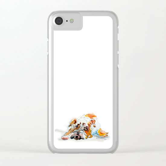 Swiss Bob Clear iPhone Case