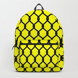 Chain-Link Fence (from Design Machine archives) Backpack
