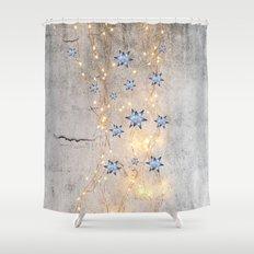 Star Wall | Christmas Spirit Shower Curtain