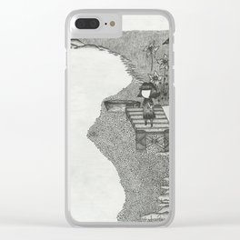 Dock 2 Clear iPhone Case