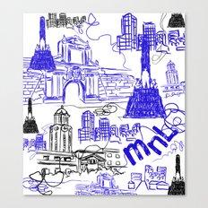 Manila Canvas Print