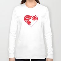 dot Long Sleeve T-shirts featuring Dot by ♥ Charlie