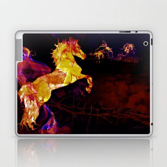 HORSE - War horse Laptop & iPad Skin