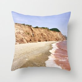 Red Sea of Sidmouth Throw Pillow