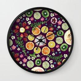 Fruit fun Wall Clock