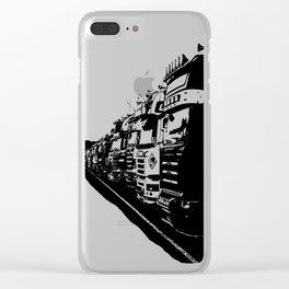 trucks Clear iPhone Case
