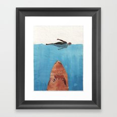 Fish Food Framed Art Print